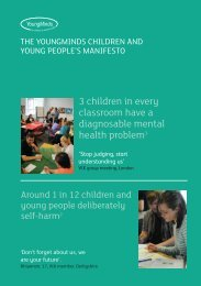 manifesto - Partnership for Young London