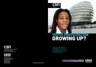 Youth Participation - growing up? - Partnership for Young London