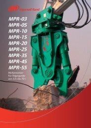 MPR-03 MPR-05 MPR-10 MPR-15 MPR-20 ... - bei Hydraulik Paule