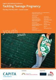 Tackling Teenage Pregnancy - Partnership for Young London