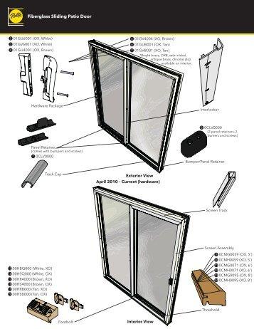 Fiberglass Sliding Patio Door - Pella.com