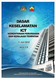 Dasar Keselamatan ICT Kementerian Perumahan dan Kerajaan ...