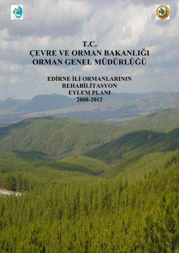 tc çevre ve orman bakanlığı orman genel müdürlüğü
