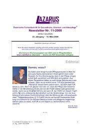 Lazarus Nr. 11 - Nurse-Communication
