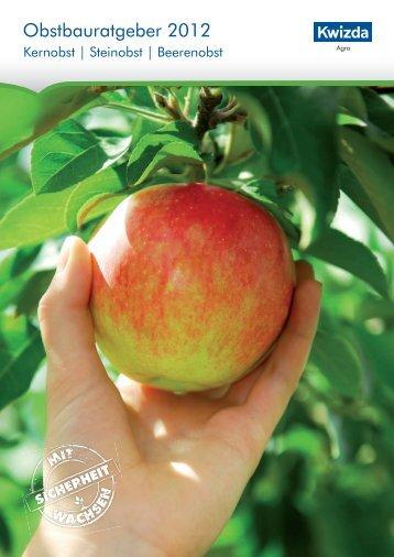 Obstbauratgeber 2012 - Kwizda Agro