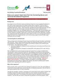 Rural broadband programme PDF 77 KB - Bath and North East ...