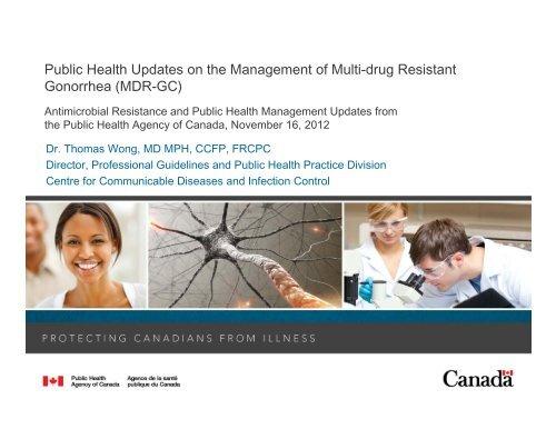 Public Health Updates on the Management of Multi-drug Resistant ...