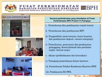pusat perkhidmatan bph 080711