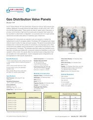 Model 7VP | Gas Distribution Valve Panels - Air Liquide America ...