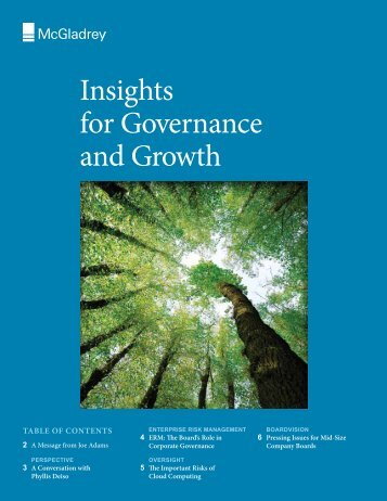 Probity in governance insights