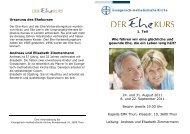 Workshops am Sonntag - EMK Thun / Heiligenschwendi