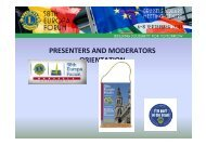PRESENTERS AND MODERATORS ORIENTATION - Lions Clubs International ...