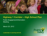 Public Engagement Information Presentation - March 20, 2012