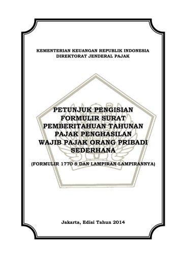 Petunjuk Pengisian Formulir Isian Data Pegawai