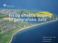 De frie geografiske grunddata - GeoForum Danmark
