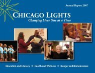 ChiCAgo Lights - The Fourth Presbyterian Church of Chicago
