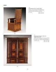 Moebel, Kat.-Nr. 3500-3618 - Galerie Fischer Auktionen AG
