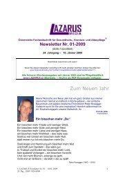 Lazarus Nr. 1 -2009 - Nurse-Communication