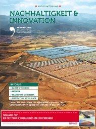 Bilanz, Beilage Nachhaltigkeit & Innovation – Januar 2012 - Air-On AG