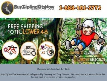 Zip Line Equipment Online