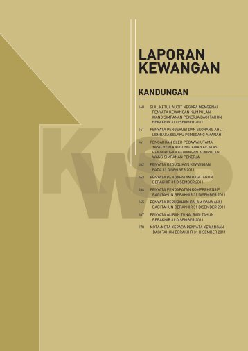 Penyata Kewangan - KWSP