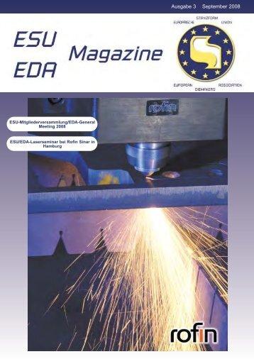 Ausgabe 3 September 2008 - ESU