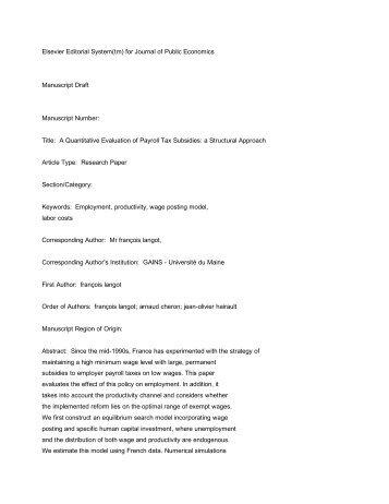 Elsevier editorial