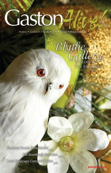 Blythe Gallery - Gaston Alive Magazine