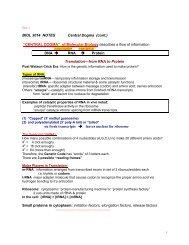 Central Dogma - Microbiology and Molecular Genetics at Oklahoma ...
