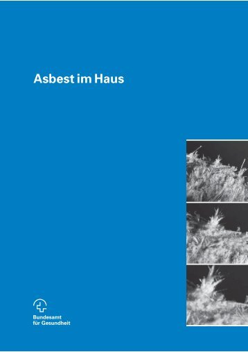 Asbest im Haus - Forum Asbest Schweiz