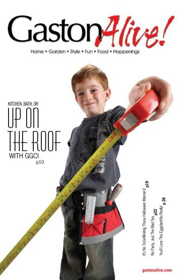 Up On The Roof - Gaston Alive Magazine