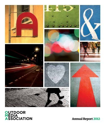 Annual Report2012 - Outdoor Media Association