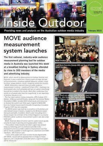 OMA Newsletter February 2010.pdf - Outdoor Media Association