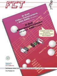 Technische Daten D-Sub Steckverbinder - Official Electronic