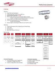 Technical Data, K Series