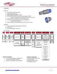 Technical Data, P Series