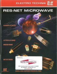 RES-Net Microwave Catalog
