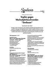 Beipackzettel SIMILASAN WECHSELJAHR, 50 ML - Online ...