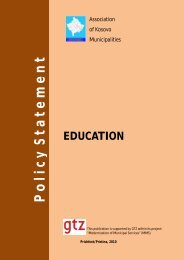Policy Statement on Education - ERI SEE
