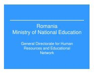Teacher Training State of Play, Romania, Eugenia Popescu - ERI SEE