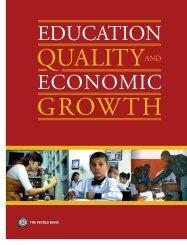 Education Quality and Economic Growth - World Bank Internet Error ...