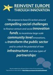 Reinvent Europe through innovation - European Commission - Europa