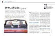 Best ager – mobil im alter: Wird die marktmacht 50plus ignoriert?