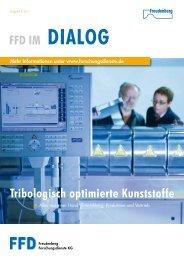 Tribologisch optimierte Kunststoffe FFD IM - Freudenberg ...