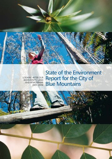 State of the Environment Report for the City of Blue Mountains