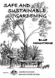 SSGP booklet library.indd - Sustainable Blue Mountains