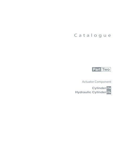 HUATONG Catalogue Part2: Actuator Components pneumatic hydraulic ENGLISH