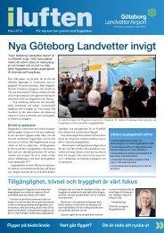 I luften, mars 2013 (pdf, 528 kb) - Swedavia