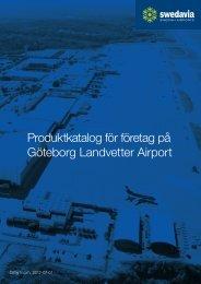 Produktkatalog för företag på Göteborg Landvetter Airport - Swedavia