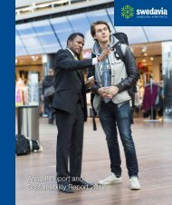 Annual Report and Sustainability Report 2012 - Swedavia
